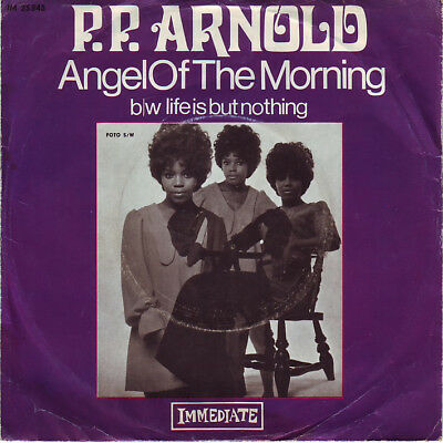 "7""-Single P.P. Arnold - Angel of the Morning - DE 1968"
