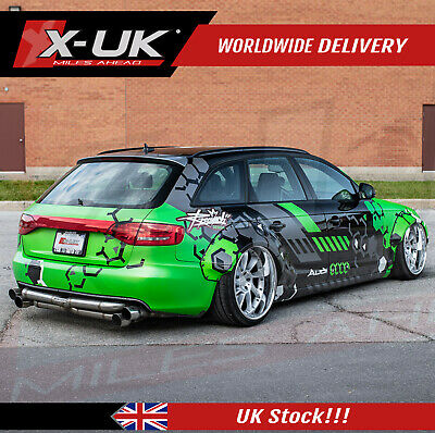 Wide body conversion fenders for Audi A4 B8.5 2013-2015