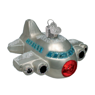 """""""Airplane"""" (46011)X Old World Christmas Ornament"""