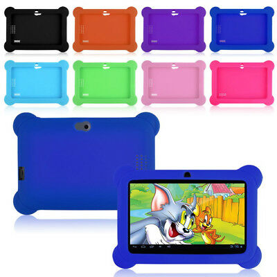 "Au 7"" Inch Kids Android 4.4 Tablet Pc Quad Core 8Gb Wifi Uk Kids Child Children"