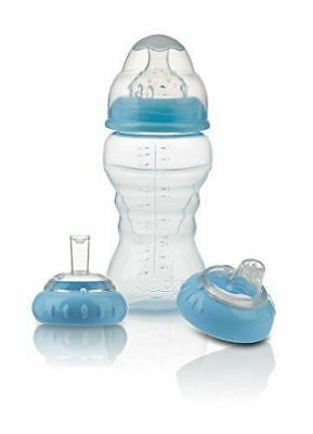 Nuby 3 Stage bottle to cup set suitable for age 0m+ Bpa free