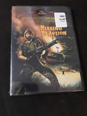 Missing in Action (DVD, 2000......W/Chuck Norris.............BRAND NEW & SEALED*