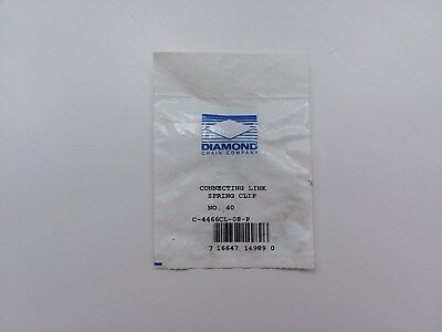 Diamond Chain Spring Clip Connecting Link C-4466CL-08-P