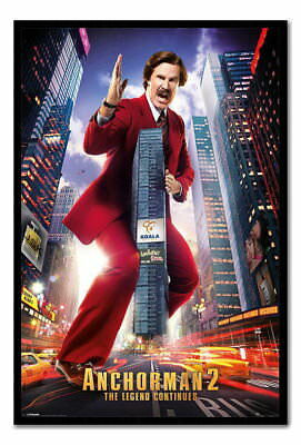89869 Anchorman 2 Ron Burgundy Ready To Hang Choice Decor WALL PRINT POSTER AU