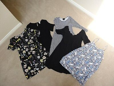 Lot of 5 Maternity Dresses - Size M, L, 10 - ASOS, H&M, Old Navy