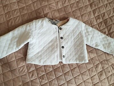 baby girl Burberry jacket 9-12