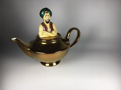 Vintage Wade Made in England Genie in the Lamp Teapot