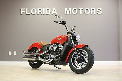 2016 Indian Scout  2016 INDIAN MOTORCYCLE CO SCOUT