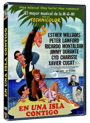 On an Island with You NEW PAL DVD Esther Williams