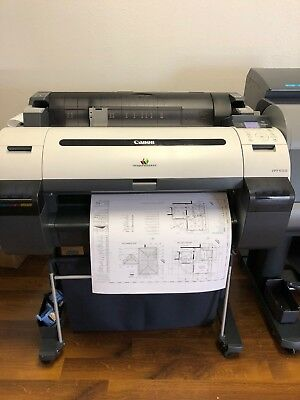 Canon iPF650 Large Wide Format Plotter Printer
