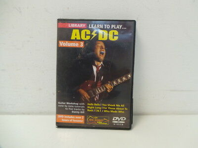 Lick Library: Learn To Play AC/DC DVD