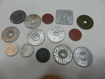 Vintage Lot of State Sales Tax Tokens