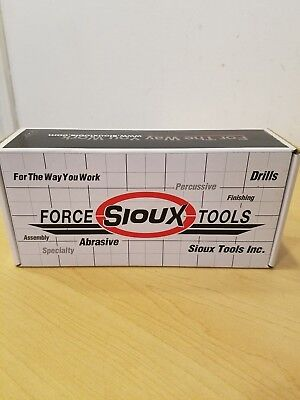 "Sioux Tools 5979A Pencil Die Grinder Air Powered 1/8"" Collet 1/4"" Air 70,000 Rpm"
