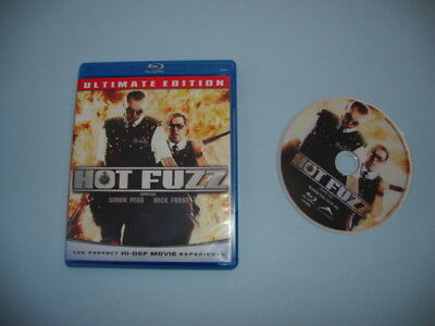 Hot Fuzz (Blu-ray Disc, 2007, Ultimate Edition)