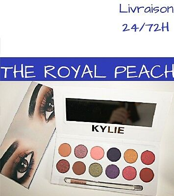 Palette KYLIE  cosmetic THE ROYAL PEACH Kylie jenner KYSHADOW maquillage