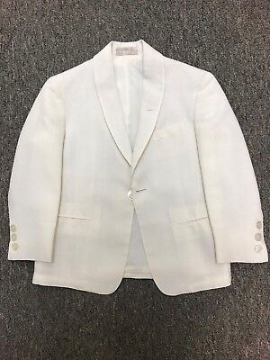 1950 - 1960 Vintage Boy's Size 4 Shawl Collar Dinner Jacket