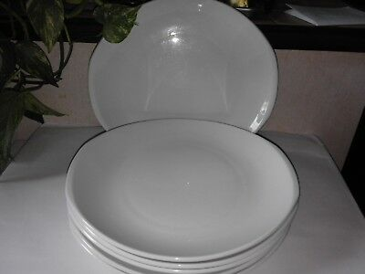 lot de 6 assiettes porcelaine pyroblan Sarreguemines lot 1
