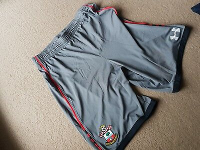 Southampton Fc Youth Yxl/tg/eg In Size Football Saints Sports Shorts New In Grey