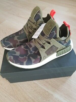 outlet store 1d1c5 11bdd ADIDAS NMD_XR1 NOMAD Boost Duck Camo Green Olive Cargo Black BA7232  Primeknit PK