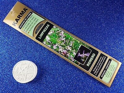 "Incienso de la India ""Limpiezas - romero""/Incense India ""To clean - rosemary"""