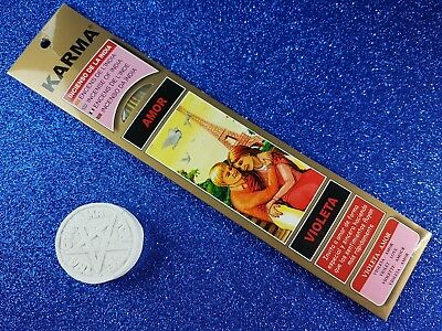 "Incienso de la India ""Amor - Violeta""/Incense from India ""Love - Violet"""