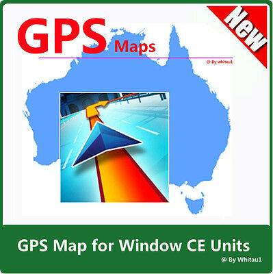 AU & NZ GPS Map 2018  + Software + Micro SD Card for WinCE Unit