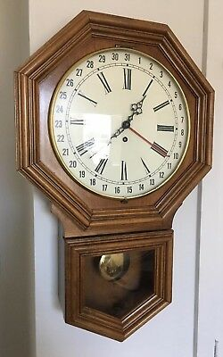 URGOS Western German Antique Vintage Wall Clock