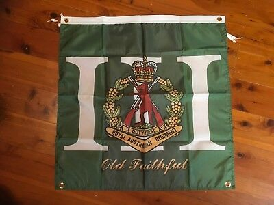 ADF poster royal australian regiment 3rd army navy RAAF man cave flag veterans