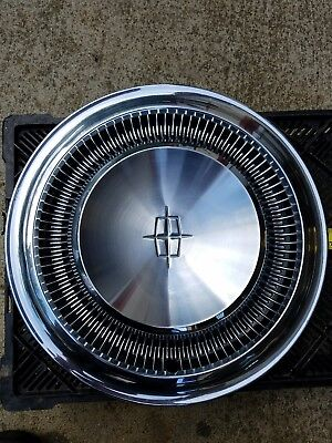 Vintage LINCOLN CONTINENTAL Hubcap Wheel Cover No Reserve 1960's