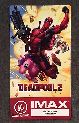 Deadpool 2 IMAX Collectable Ticket