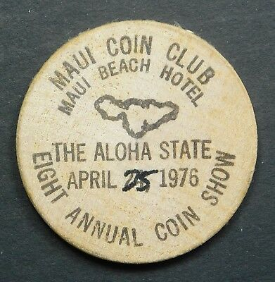 Hawaii Wooden Nickel