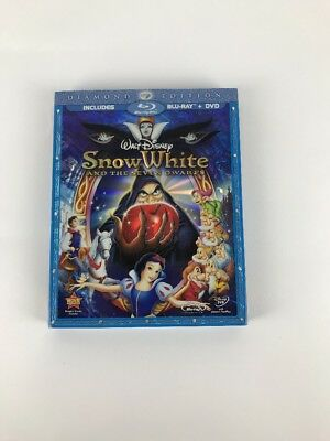 Snow White and the Seven Dwarfs (Blu-ray/DVD, Diamond Edition)  OOP Slipcover