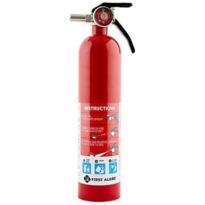 TWO 5LBNICEAMEREX ABC FIRE EXTINGUISHERS W2018 CERT TAGSSIGNS