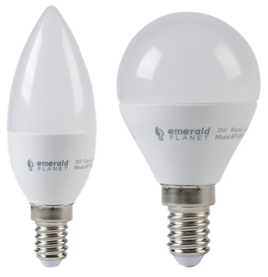 NEW LED Bulbs - Candle & Round Series  54