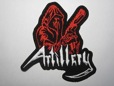 ARTILLERY logo embroidered NEW patch thrash metal