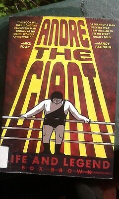 Andre The Giant - Life and Legend - Graphic Novel