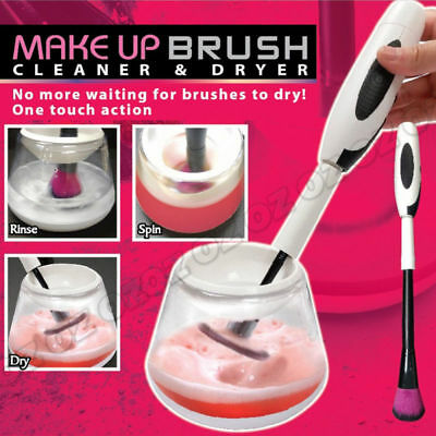 Wash Dryer Electric Brush Cleaning Cosmetic Tool Kit Makeup Brush Cleaner Set