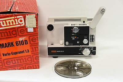 Eumig Mark 610D Super-8 / Standard 8mm Film Projector