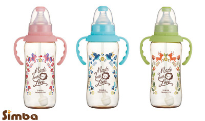 Simba Dorothy Wonderland Ppsu Standard Neck Feeding Bottle With Auto Straw & Han