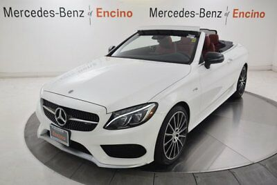 C-Class AMG C 43 2018 Mercedes-Benz C43 AMG Convertible, Certified, LED, Loaded!