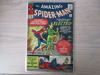 Amazing Spider-Man #9  Origin & 1St First Appearance Of Electro