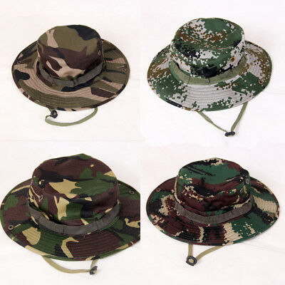 Fitted Army Cadet Military Patrol Castro Cap Hat Combat Hunting Sun Visor Hat