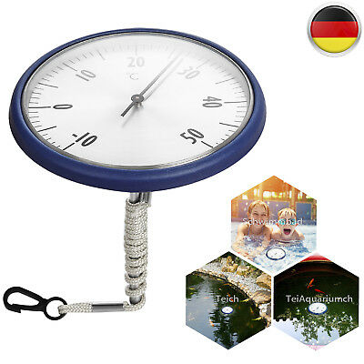 Thermometer Schwimmring Pool Schwimmbad Thermometer Wassertemperatur -10~50 Grad