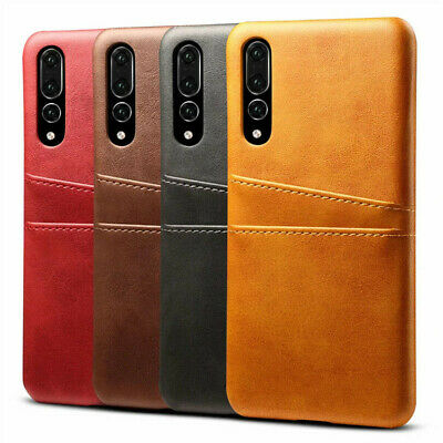 For Huawei Mate 20 Pro/ P20/ P20 Pro Wallet Credit Card Slot Leather Case Cover