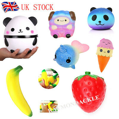 Jumbo Slow Rising Squishies Squishy Squeeze Stress Reliever Adult Decoration Toy