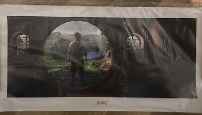 WETA The Hobbit An Unexpected Journey Bilbo Baggins Print Poster LOTR