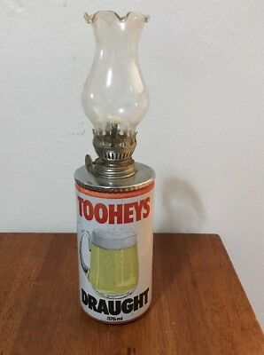 Kitch Beer Can Kerosene Lamp