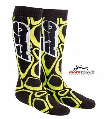Calze Off Road Socks Axo Cross Nero/giallo One Size