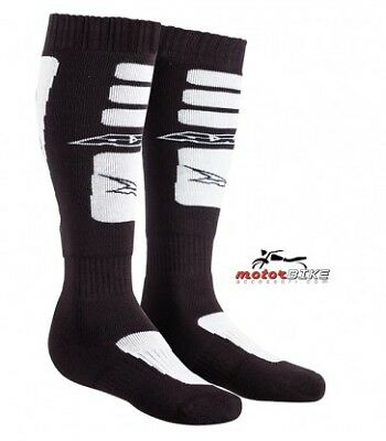 Calze Off Road Socks Axo Cross Nero/bianco One Size