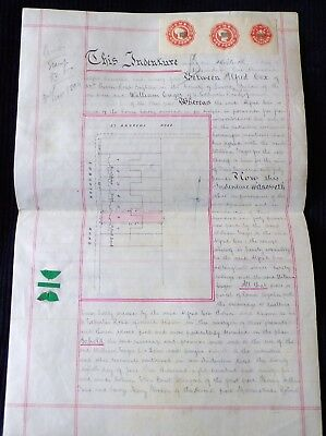Indenture Related to a Property in Preston, East Sussex, 1894
